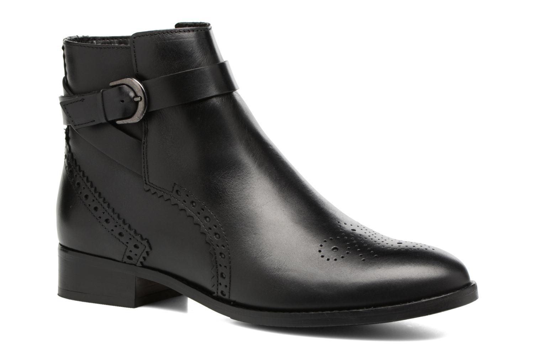 Boots en enkellaarsjes Clarks Netley Olivia Zwart detail