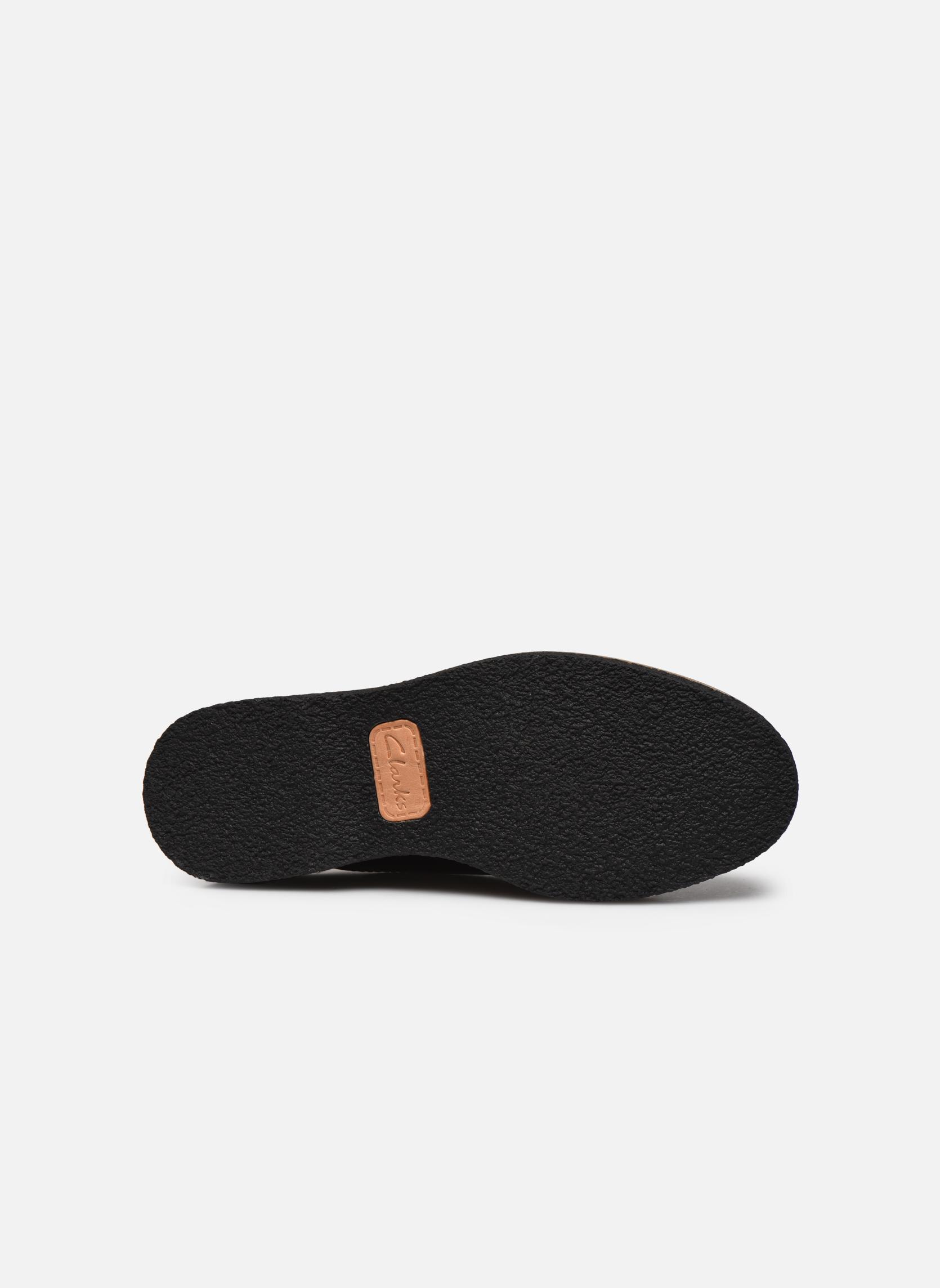 Chaussures à lacets Clarks Zante Zara Bordeaux vue haut