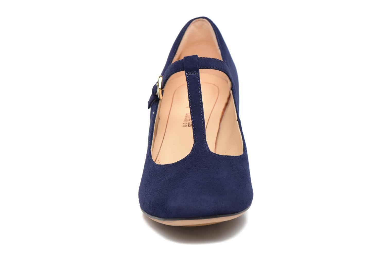 Escarpins Clarks Orabella Fern Bleu vue portées chaussures