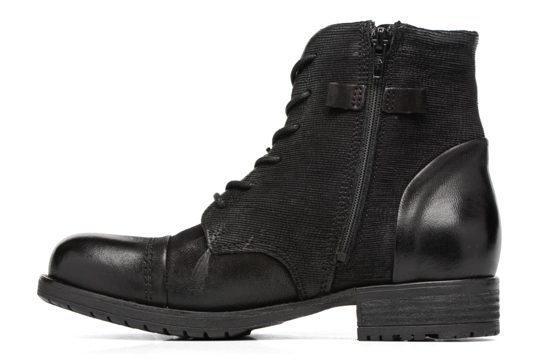 Bottines et boots Clarks Adelia Stone Noir vue face