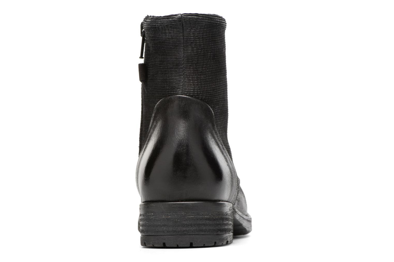 Adelia Stone Black leather