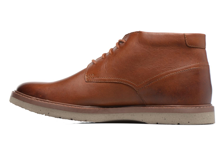 Bottines et boots Clarks Bonnington Top Marron vue face