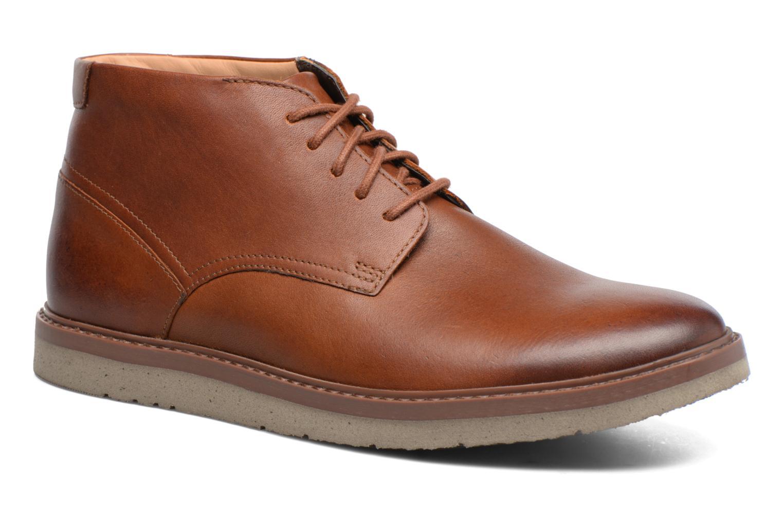 Bottines et boots Clarks Bonnington Top Marron vue détail/paire