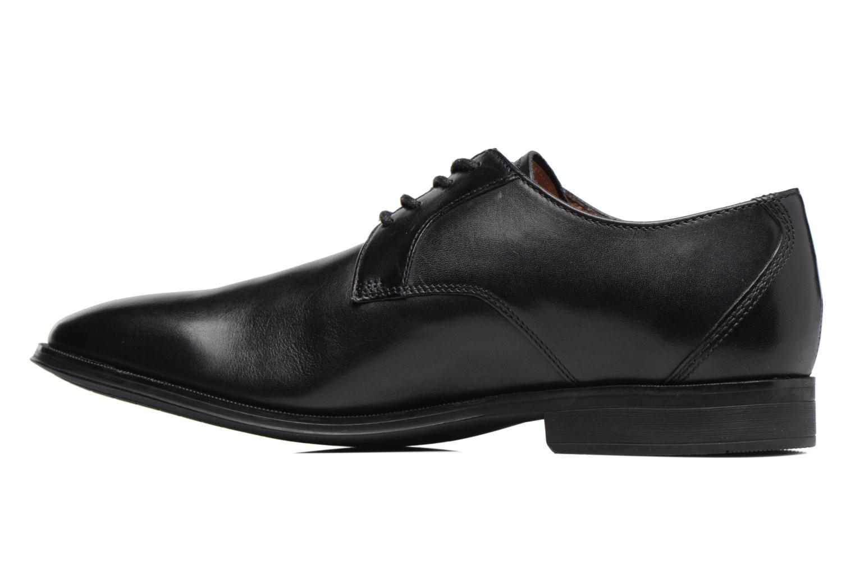 Chaussures à lacets Clarks Gilman Lace Noir vue face