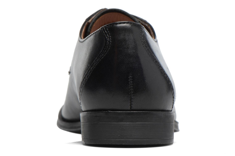 Chaussures à lacets Clarks Gilman Lace Noir vue droite
