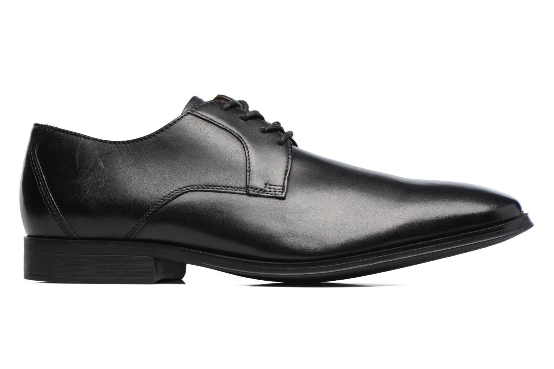Chaussures à lacets Clarks Gilman Lace Noir vue derrière