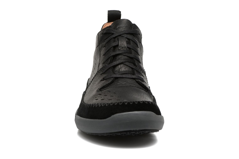 Baskets Clarks Trifri Hi Noir vue portées chaussures