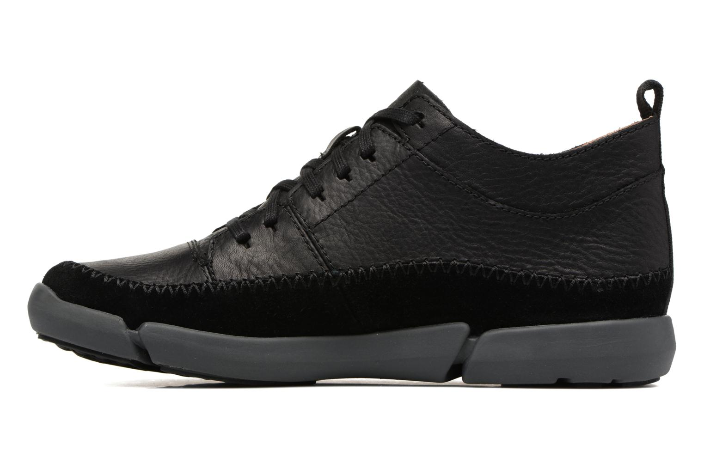 Sneakers Clarks Trifri Hi Zwart voorkant