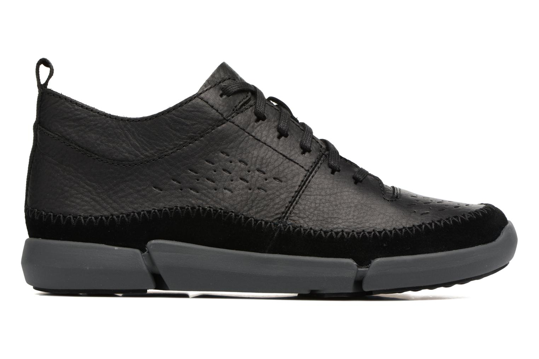 Sneakers Clarks Trifri Hi Zwart achterkant