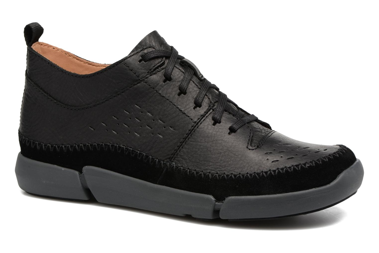 Sneakers Clarks Trifri Hi Zwart detail