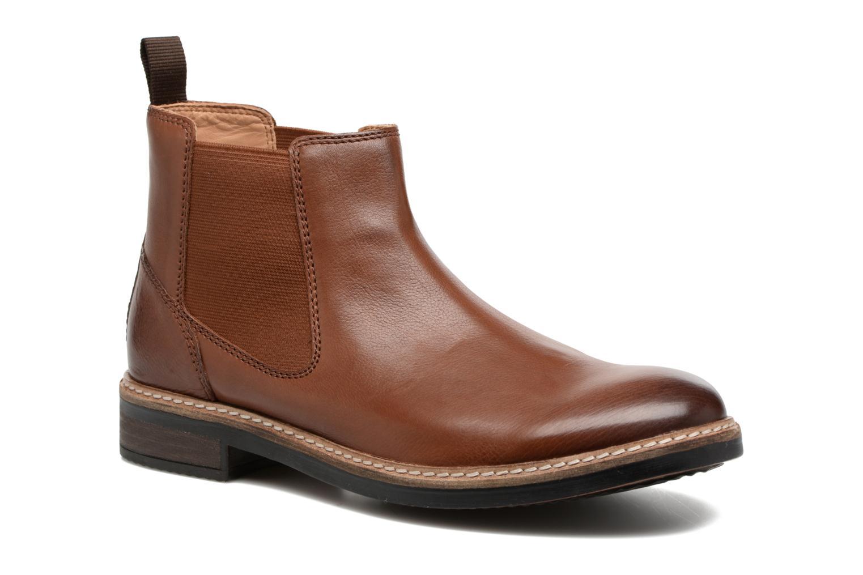 Bottines et boots Clarks Blackford Top Marron vue détail/paire