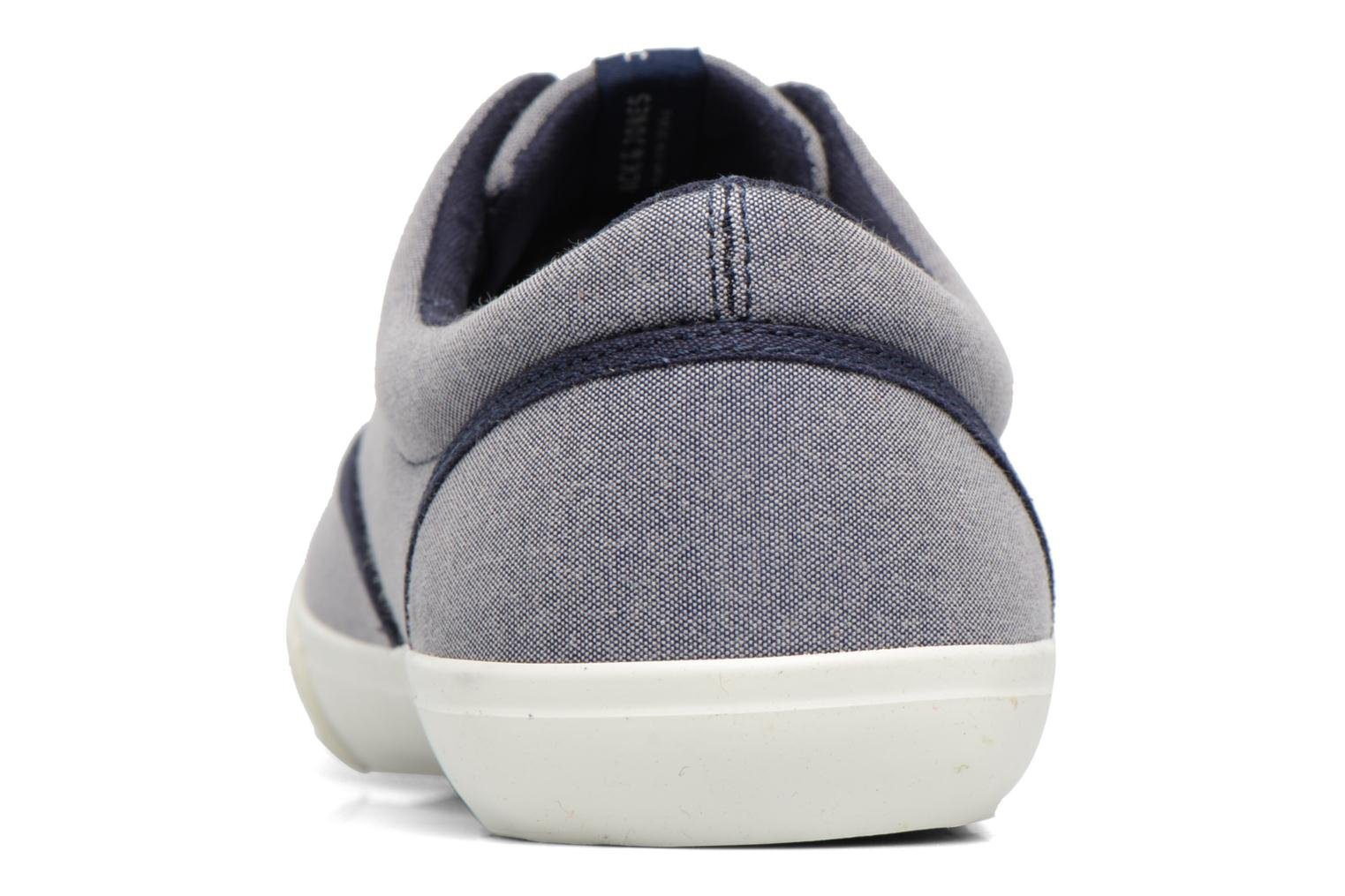 Baskets Jack & Jones JFW Kos Chambray Contrast Bleu vue droite