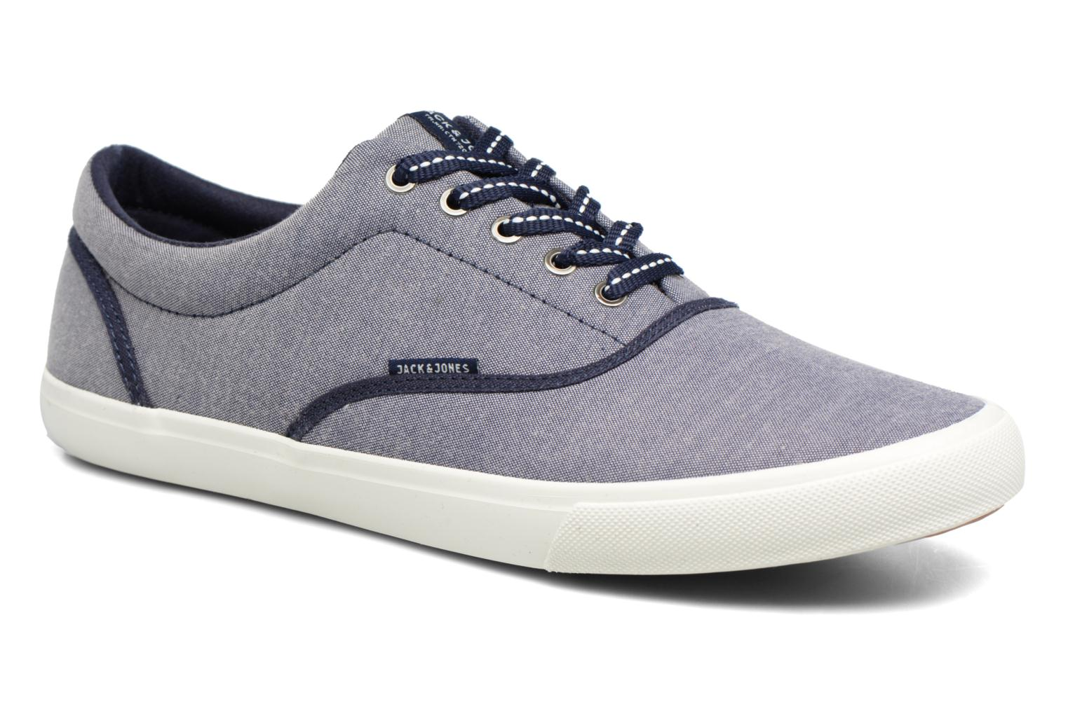 Baskets Jack & Jones JFW Kos Chambray Contrast Bleu vue détail/paire