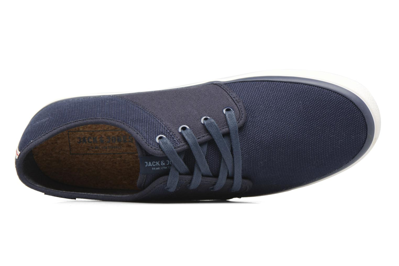 Baskets Jack & Jones JFW Turbo Bleu vue gauche