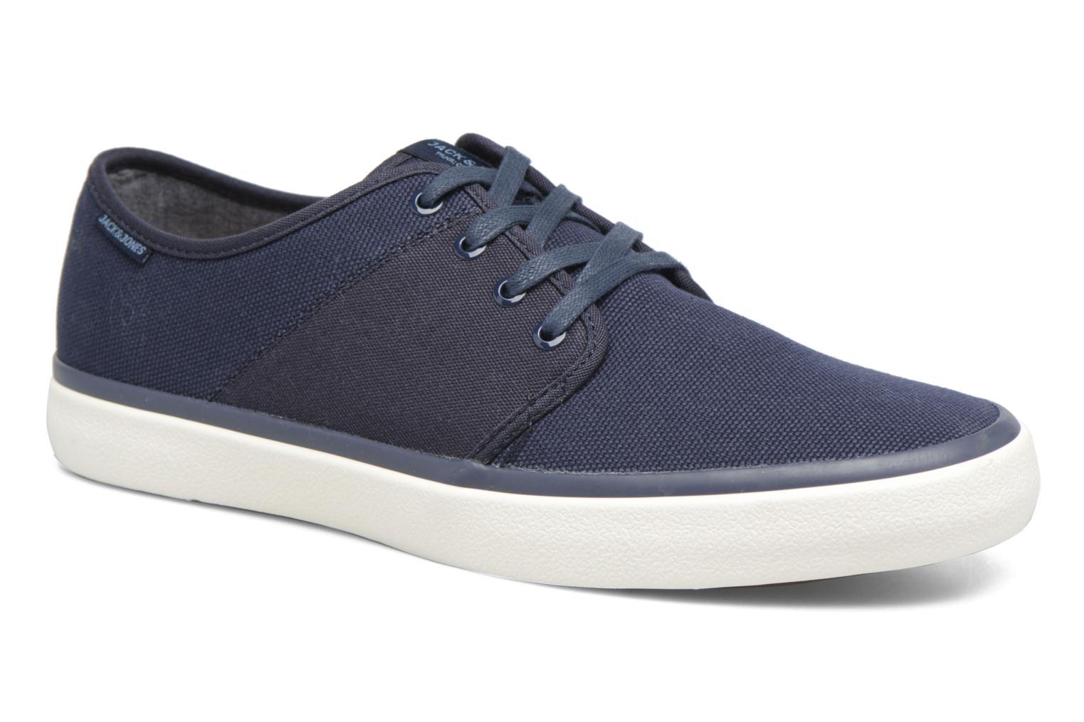 Baskets Jack & Jones JFW Turbo Bleu vue détail/paire