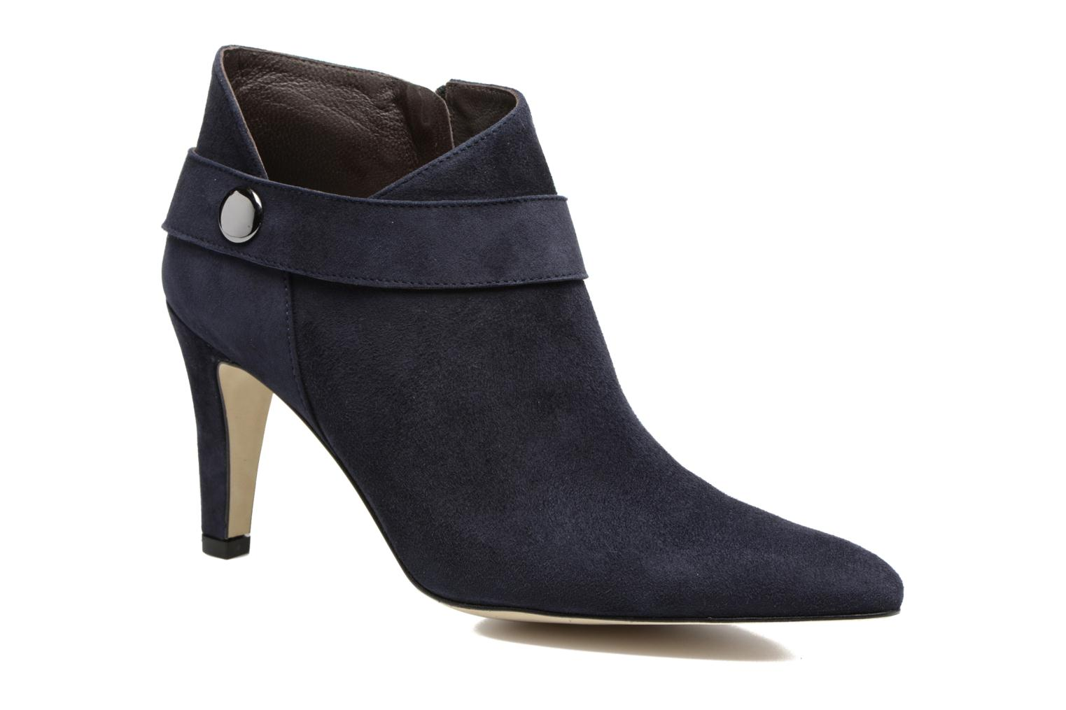 Ankle boots Perlato Edel Blue detailed view/ Pair view