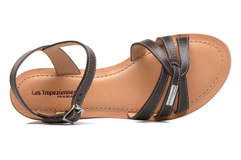 Sandals Les Tropéziennes par M Belarbi Balisto Brown view from the left
