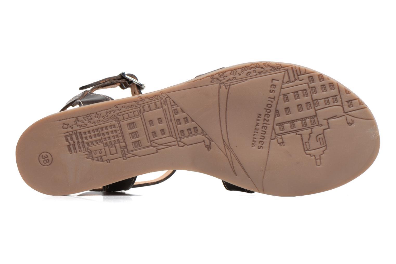 Sandals Les Tropéziennes par M Belarbi Balisto Brown view from above