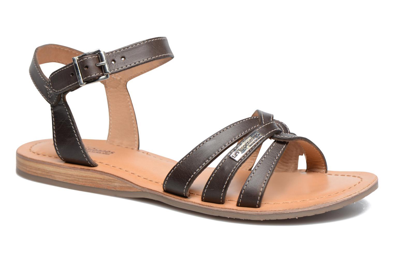Sandals Les Tropéziennes par M Belarbi Balisto Brown detailed view/ Pair view