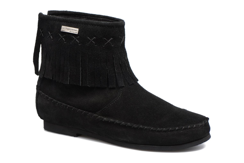Bottines et boots Les Tropéziennes par M Belarbi Crabe J Noir vue détail/paire
