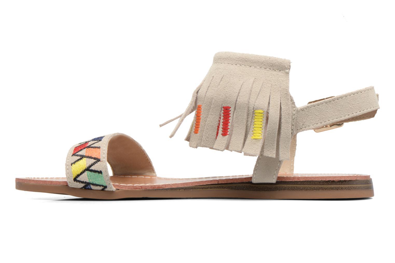 Sandales et nu-pieds Les Tropéziennes par M Belarbi Gaya Beige vue face