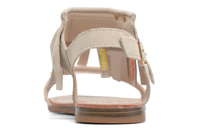 Sandales et nu-pieds Les Tropéziennes par M Belarbi Gaya Beige vue droite