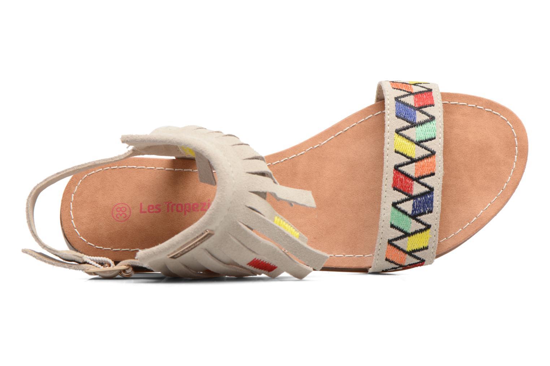 Sandales et nu-pieds Les Tropéziennes par M Belarbi Gaya Beige vue gauche