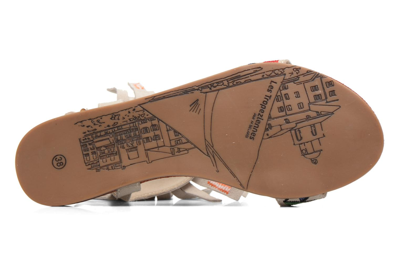 Sandales et nu-pieds Les Tropéziennes par M Belarbi Gaya Beige vue haut