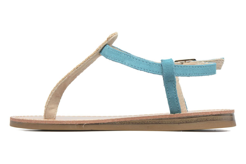 Sandales et nu-pieds Les Tropéziennes par M Belarbi Geronima Bleu vue face