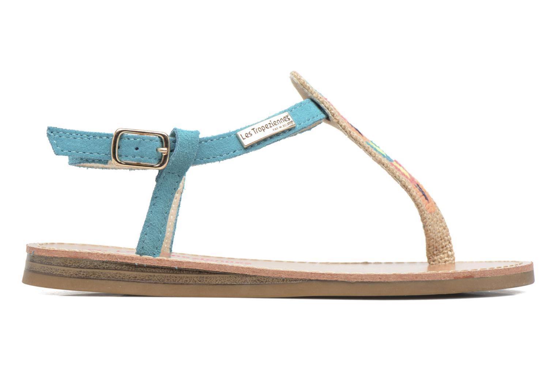 Sandales et nu-pieds Les Tropéziennes par M Belarbi Geronima Bleu vue derrière