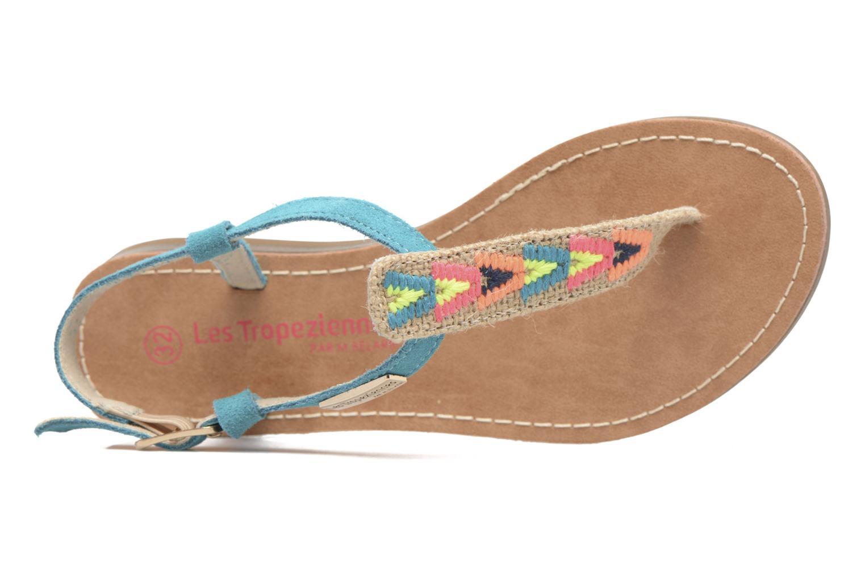 Sandales et nu-pieds Les Tropéziennes par M Belarbi Geronima Bleu vue gauche