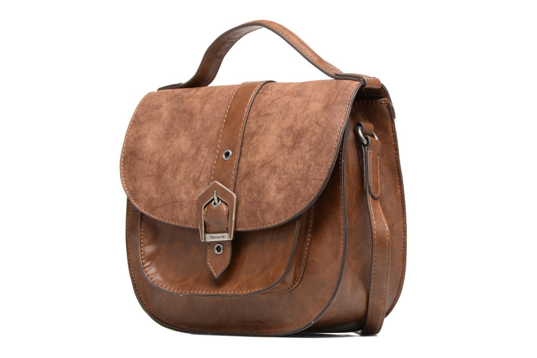 AVRIL Saddle bag M Cognac Comb