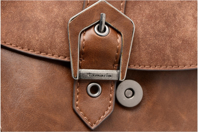 Sacs à main Tamaris AVRIL Saddle bag M Marron vue gauche