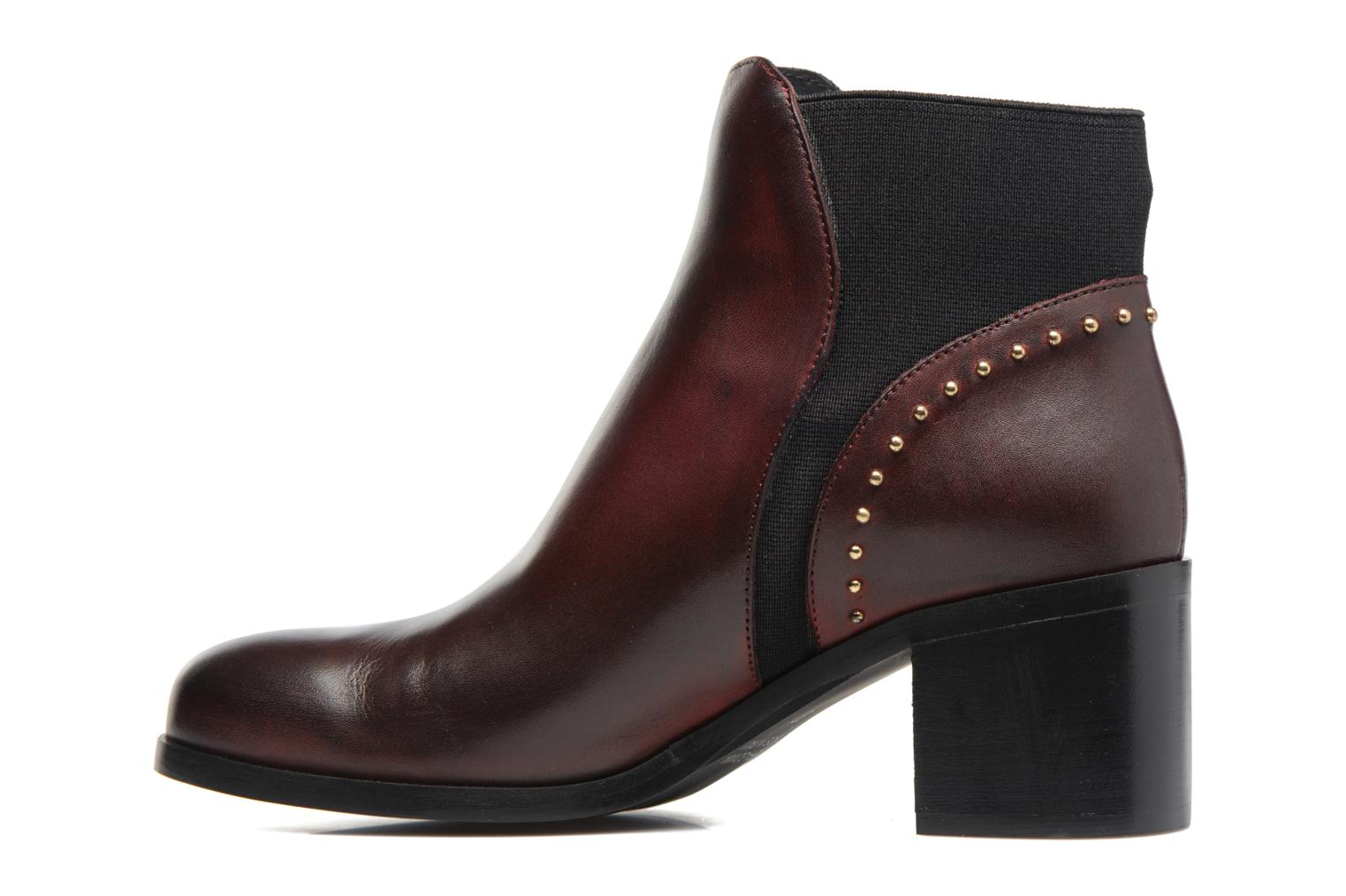 Ankle boots Georgia Rose Soulia Burgundy front view