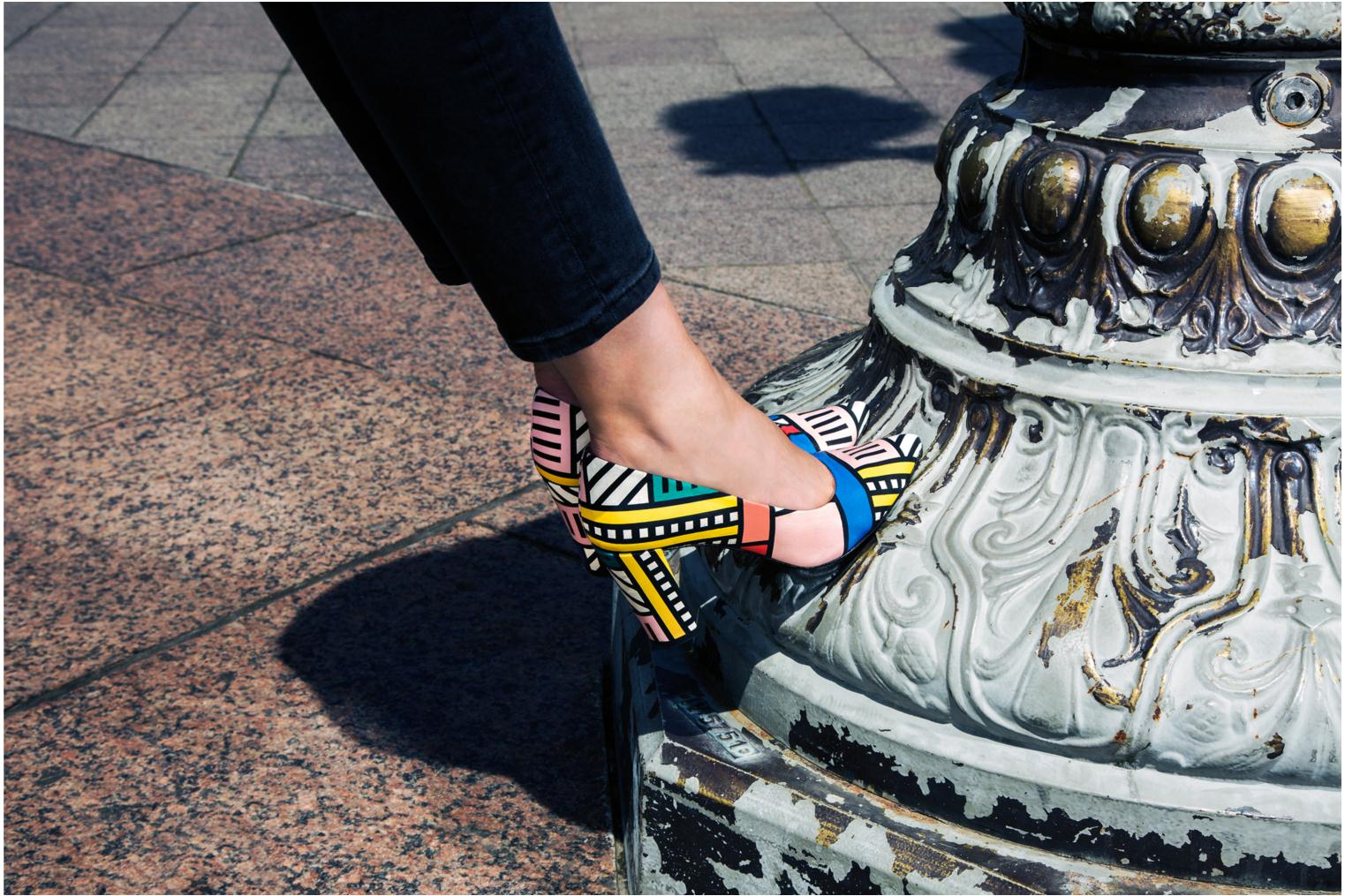 Made by Sarenza X Camille Walala Pump Print walala Multi