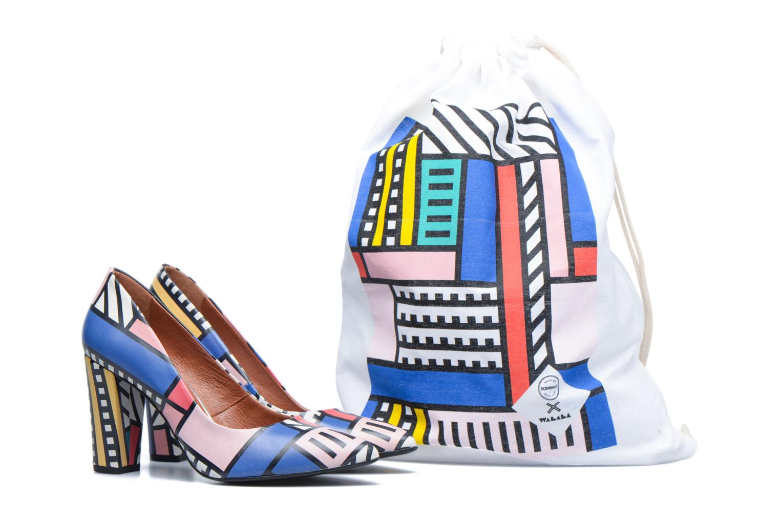 High heels Made by SARENZA Made by Sarenza X Camille Walala Pump Multicolor back view