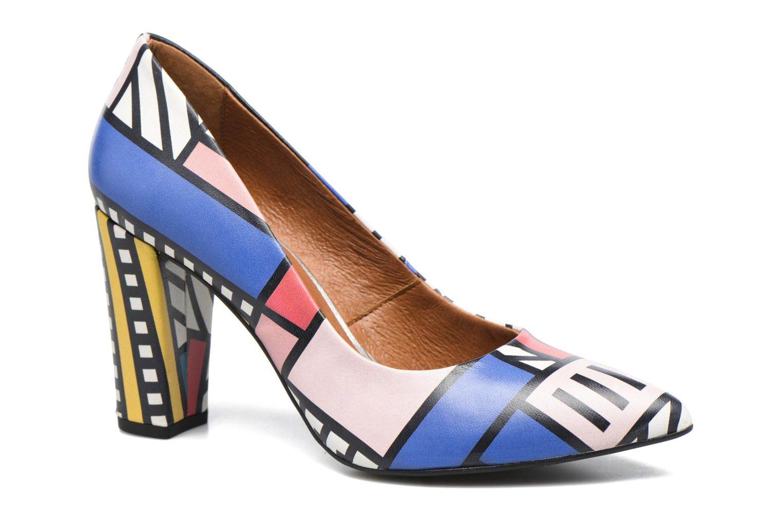 High heels Made by SARENZA Made by Sarenza X Camille Walala Pump Multicolor view from the left