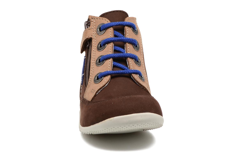 Bottines et boots Kickers Bartin Marron vue portées chaussures