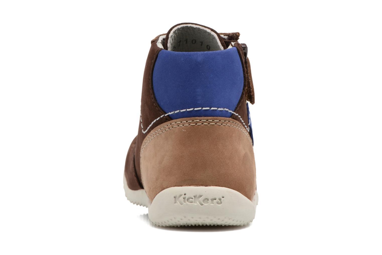 Bottines et boots Kickers Bartin Marron vue droite