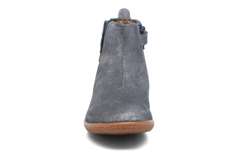 Bottines et boots Kickers Vinciane Bleu vue portées chaussures