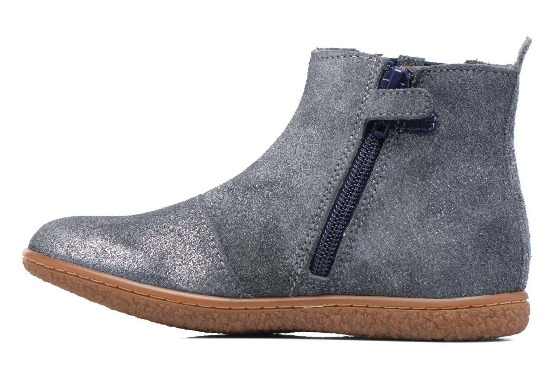 Bottines et boots Kickers Vinciane Bleu vue face