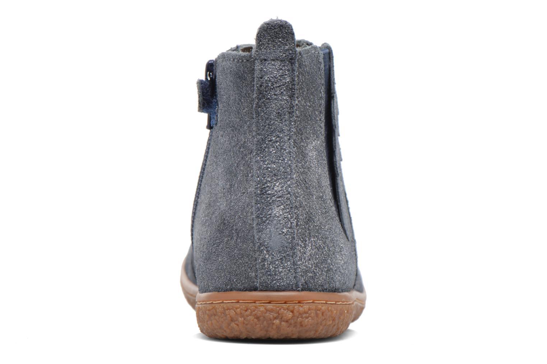 Bottines et boots Kickers Vinciane Bleu vue droite