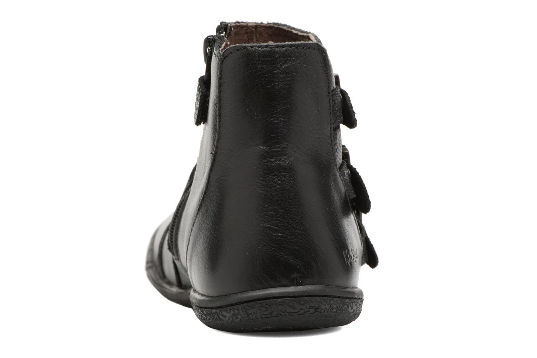 Bottines et boots Kickers Calina Noir vue droite