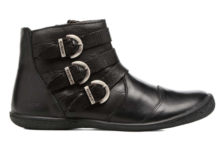 Bottines et boots Kickers Calina Noir vue derrière