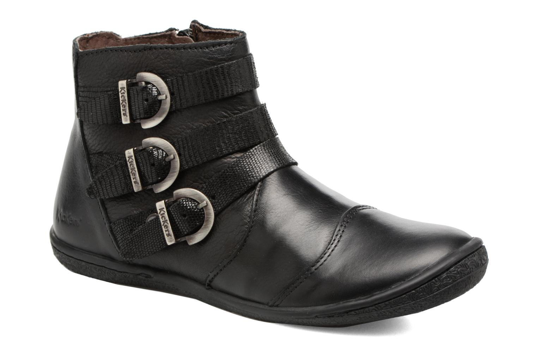 Bottines et boots Kickers Calina Noir vue détail/paire