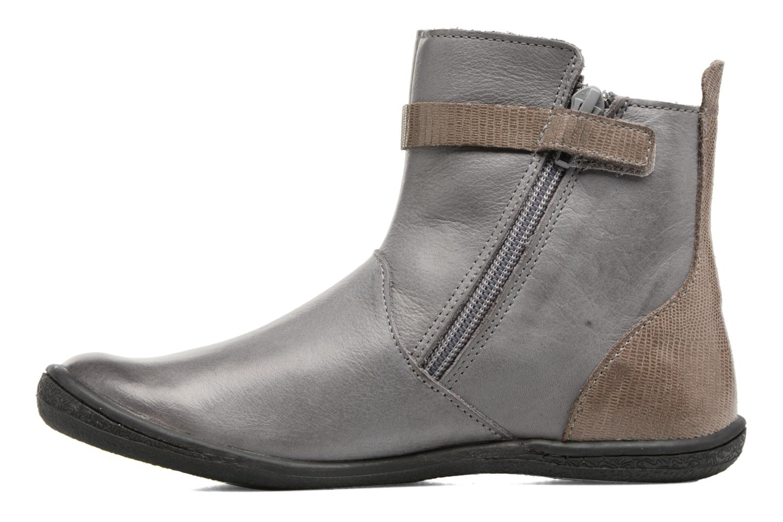 Boots en enkellaarsjes Kickers Cameron Grijs voorkant