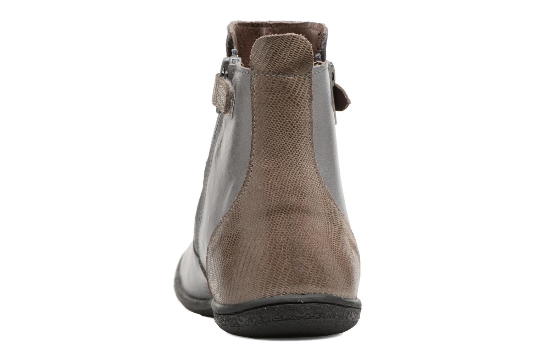 Bottines et boots Kickers Cameron Gris vue droite