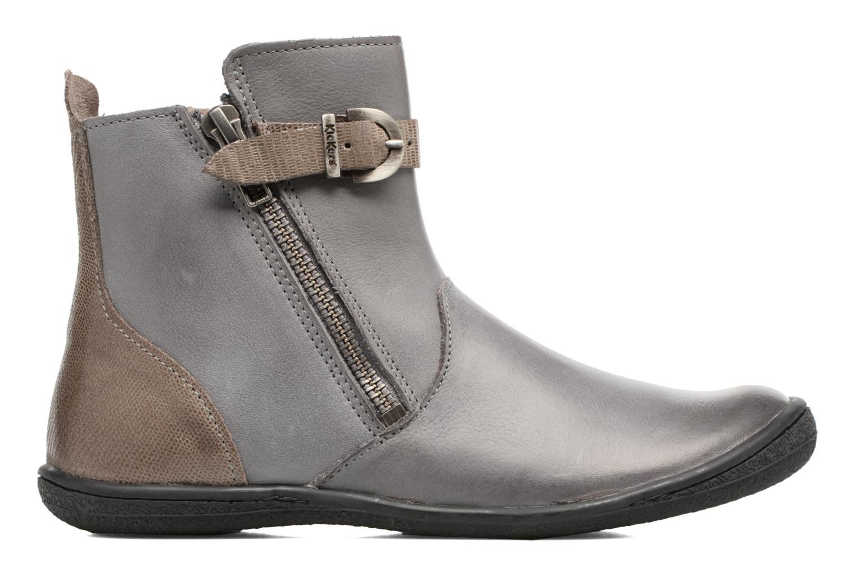 Boots en enkellaarsjes Kickers Cameron Grijs achterkant