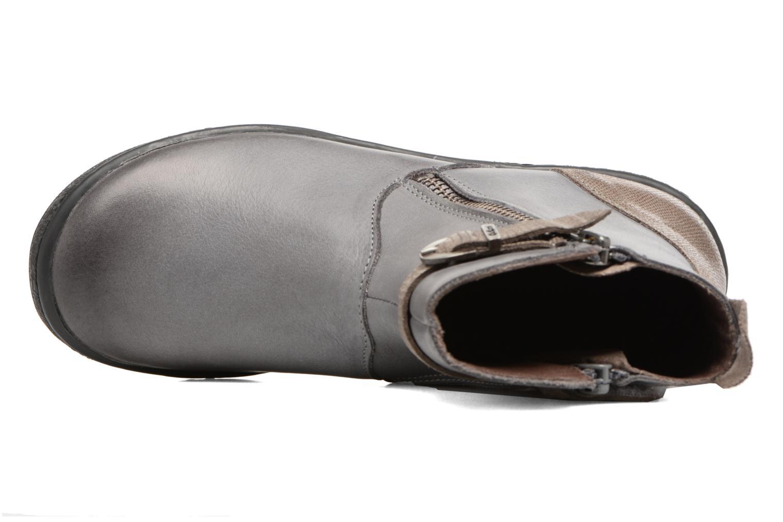 Bottines et boots Kickers Cameron Gris vue gauche