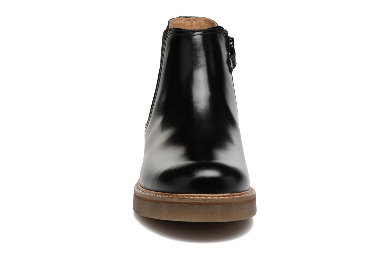 Bottines et boots Kickers Oxalide Noir vue portées chaussures